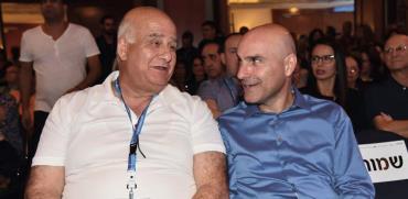 אפי נוה (מימין) וחאלד זועבי / צילום: לשכת עורכי הדין
