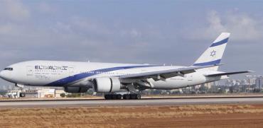 מטוס אל על חונה בשדה תעופה / צילום: יואב יערי