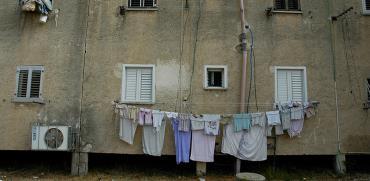 בניין בשכונת עוני בישראל / צילום: תמר מצפי, גלובס