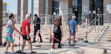 """בדרך ללשכת התעסוקה בת""""א. מן הראוי שהממשלה תציע הכשרות מקצועיות  / צילום: כדיה לוי, גלובס"""