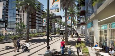 תוכנית 'חוף התכלת' בדרום-מערב הרצליה / הדמיה: קייזר אדריכלים