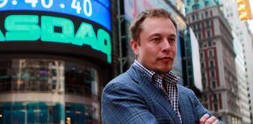 אילון מאסק, מייסד טסלה. מניית טסלה עלתה 61% מאז הכרזת הפיצול ב-11 באוגוסט / צילום: Brendan McDermid, רויטרס