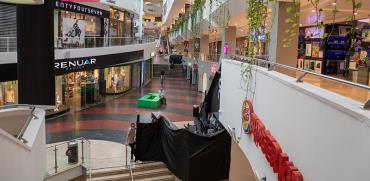 חנויות סגורות בקניון דיזנגוף סנטר. סגר סבב ב' / צילום: כדיה לוי, גלובס