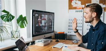 שיחת עבודה בווידיאו / צילום: שאטרסטוק