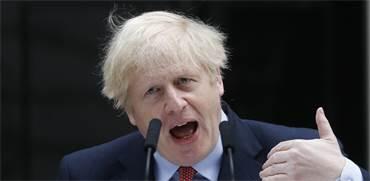 ראש ממשלת בריטניה בוריס ג'ונסון החלים ממחלת הקורונה / צילום: Frank Augstein , Associated Press