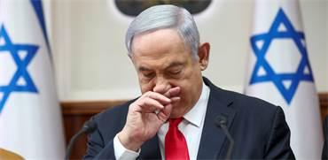 ראש הממשלה בנימין נתניהו בישיבה מיוחדת על רקע חשש הקורונה / צילום: Oded Balilty, Associated Press