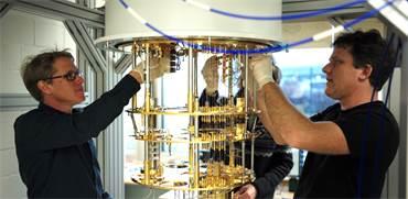 מחשוב קוונטי במעבדת מחקר של IBM בציריך / צילום: באדיבות IBM Research