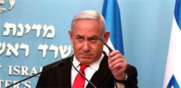 ראש הממשלה נתניהו מחמיר את ההנחיות לציבור בצל איום הקורונה על ישראל / צילום: Gali Tibbon, Associated Press