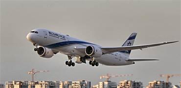 מטוס של אל על ממריא / צילום: יואב יערי