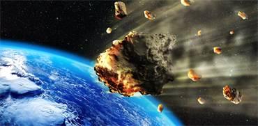 אסטרואיד בדרך לכדור הארץ / צילום: shutterstock, שאטרסטוק