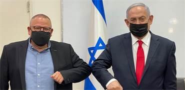 """ראש הממשלה בנימין נתניהו ויו""""ר ההסתדרות ארנון בר-דוד / צילום: תמונה פרטית"""