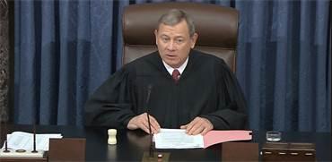 ג'ון רוברטס, נשיא בית המשפט העליון / צילום: AP Photo, AP