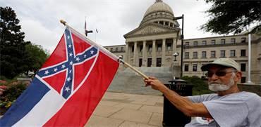 דגל מיסיסיפי / צילום: AP Photo, AP