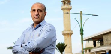 איימן סייף, פרויקטור הקורונה של החברה הערבית / צילום: איל יצהר