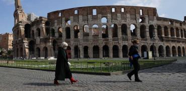 הקולוסיאום ברומא / צילום: AP - Alessandra Tarantino
