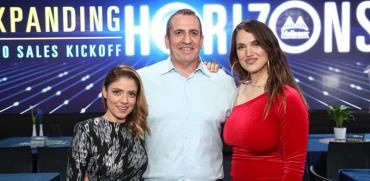ארינה מקסימיליאן, איל וולדמן ושירי מימון / צילום: קובי בכר