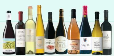 """10 יינות לפסח / צילומים: יח""""צ, אלעד ברמי, אורי גרון, אייל קרן עומרי מירון"""