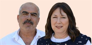 חביבה אייזלר, סאמי סעדי  / צילום: איל יצהר, גלובס