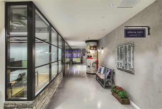 משרדי MICROSOFT ADALLOM / תכנון ועיצוב: אדריכלית אירית גרינברג, מעצבת ציפי כרמל / צילום: עוזי פורת