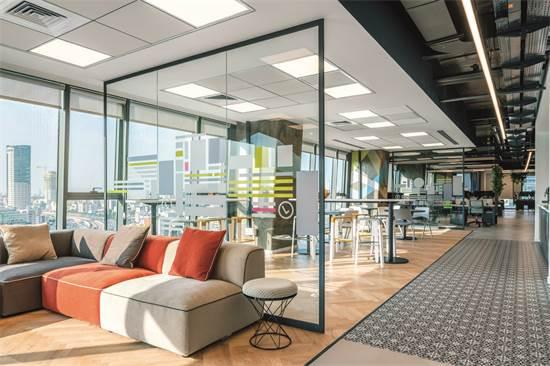משרדי AMENITY ANALYTICS / תכנון ועיצוב: חגי נגר אדריכלים / צילום: יואב פלד