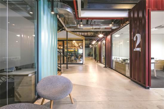 משרדי BMC / תכנון ועיצוב: גינדי סטודיו / צילום: עוזי פורת