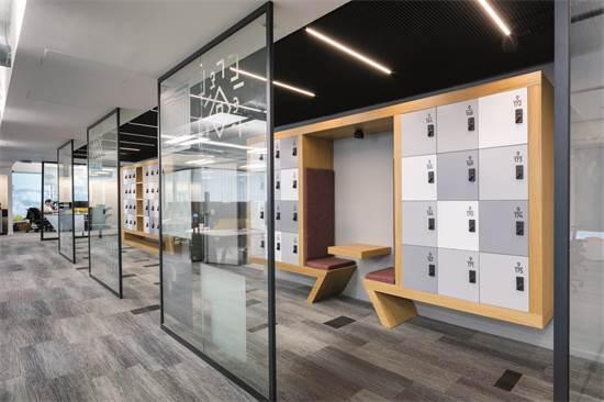 משרדי EY / תכנון ועיצוב: רם גולדברג אדריכלים / צילום: עוזי פורת