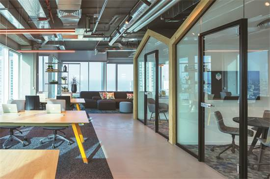 משרדי FUNDBOX / תכנון ועיצוב: אדריכלית מאיה אלעזר / צילום: עוזי פורת