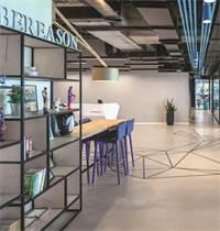 משרדי CYBEREASON / תכנון ועיצוב: גינדי סטודיו / צילום: עוזי פורת