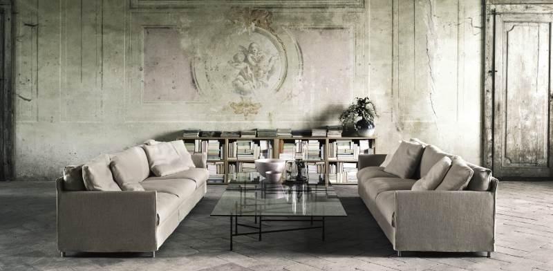 """ספות בעיצובו של פיירו ליסוני / צילום: יח""""צ הביטאט"""