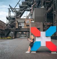 פרויקט עיר המדע בעיר Belval בלוקסמבורג, הממוקם בשטח מפעל פלדה לשעבר / צילום: Sabino Parente