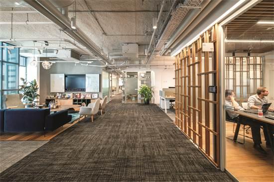 משרדי HARMAN ISRAEL / תכנון ועיצוב: סטודיו BA (אדר' מורן בן חור, מעצב עמרי אמויאל) / צילום: אילן נחום