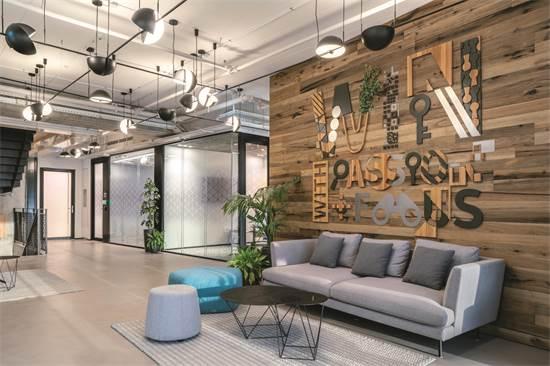 משרדי חברת SYMANTEC / תכנון ועיצוב: הדס מקוב אדריכלים / צילום: יואב פלד