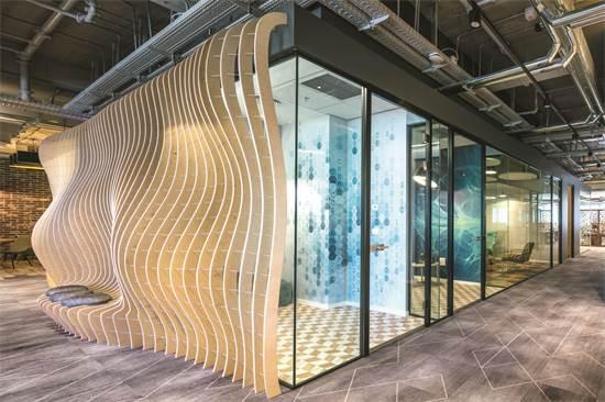 משרדי GE / תכנון ועיצוב: סתר אדריכלים / צילום: עוזי פורת
