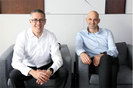 ערן פסטרנק ושי שהם, מייסדי בית ההשקעות פסטרנק שהם / צילום: תמר מלין
