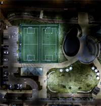 """ח.י. אנרגיה תחום תאורת LED. פרויקט בנוה זמר, רעננה / צילום: יח""""צ"""
