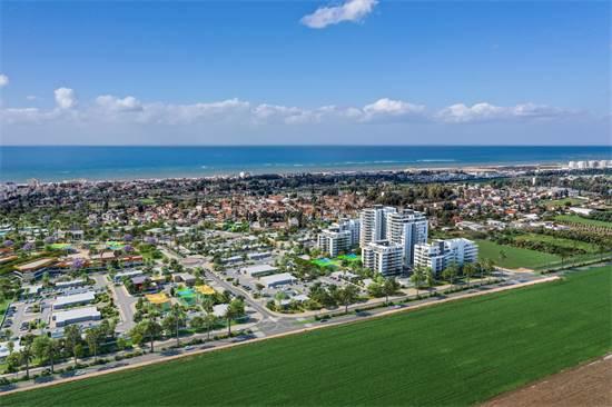 מיקום הפרויקט בעיר. נוף לים ומבט לירוק / הדמיה: סטודיו לומו