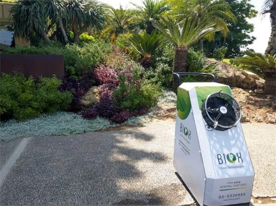 יחידת חיטוי ניידת של BIOX / צילום: BIOX