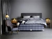 מיטה של Hastens. עשויה מחומרים טבעיים ליצירת חוויית שינה מיטבית / צילום: Hastens