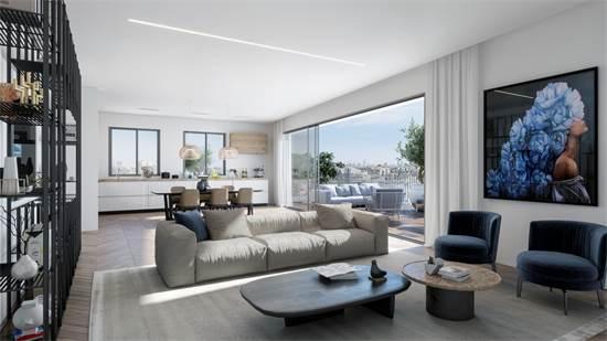 מבט לדירה בפרויקט. עיצוב מוקפד / הדמיה: 3DdESIGN