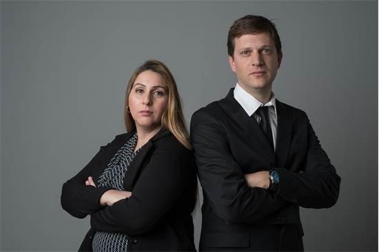 """עו""""ד שרית כהן ועו""""ד אייל פייפר / צילום: סטודיו לובן"""