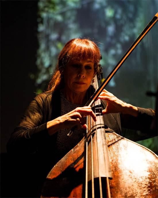 אורית צלניקר, מנגניות הקונטרבס המובילות בישראל בעבר / צילום: טאיסיה אלטסיניה