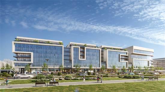 """פרויקט """"Ono business center"""". נגישות מחוץ לעיר ולתושבי האזור / הדמיה: סטודיו לומו"""