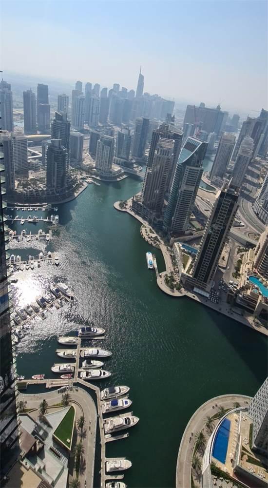 דובאי מראה מלמעלה. נפתחה למשקיעים ישראלים / צילום: רפיק' ח'ורי