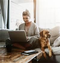 עבודה מהבית. אימוץ טכנולוגיות חדשות בא לידי ביטוי בשוק ההון / צילום: Shutterstock/א.ס.א.פ קרייטיב
