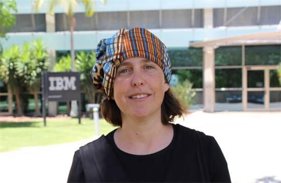 אפרת הכסטר, מנהלת קבוצת ניתוח תמונות רפואיות במעבדת המחקר של IBM בחיפה / צילום: אפרת הכסטר