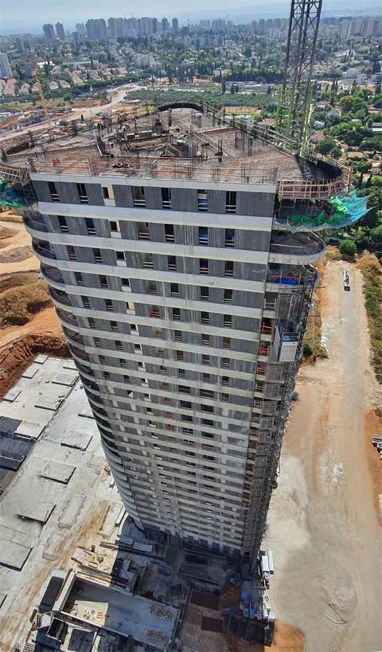 בנייני יוקרה מתועשים / צילום: דוד אסייג