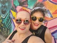 """מיזם """"סשן פשן"""" לצילומי נשים באתרים בלתי שגרתיים / צילום: אירית דגמי ומאירה גוראי רז"""