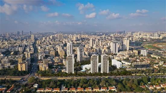 שכונת נווה יהושע, מבט ממערב למזרח. נגישות לאזורי תעסוקה / הדמיה: sharpen
