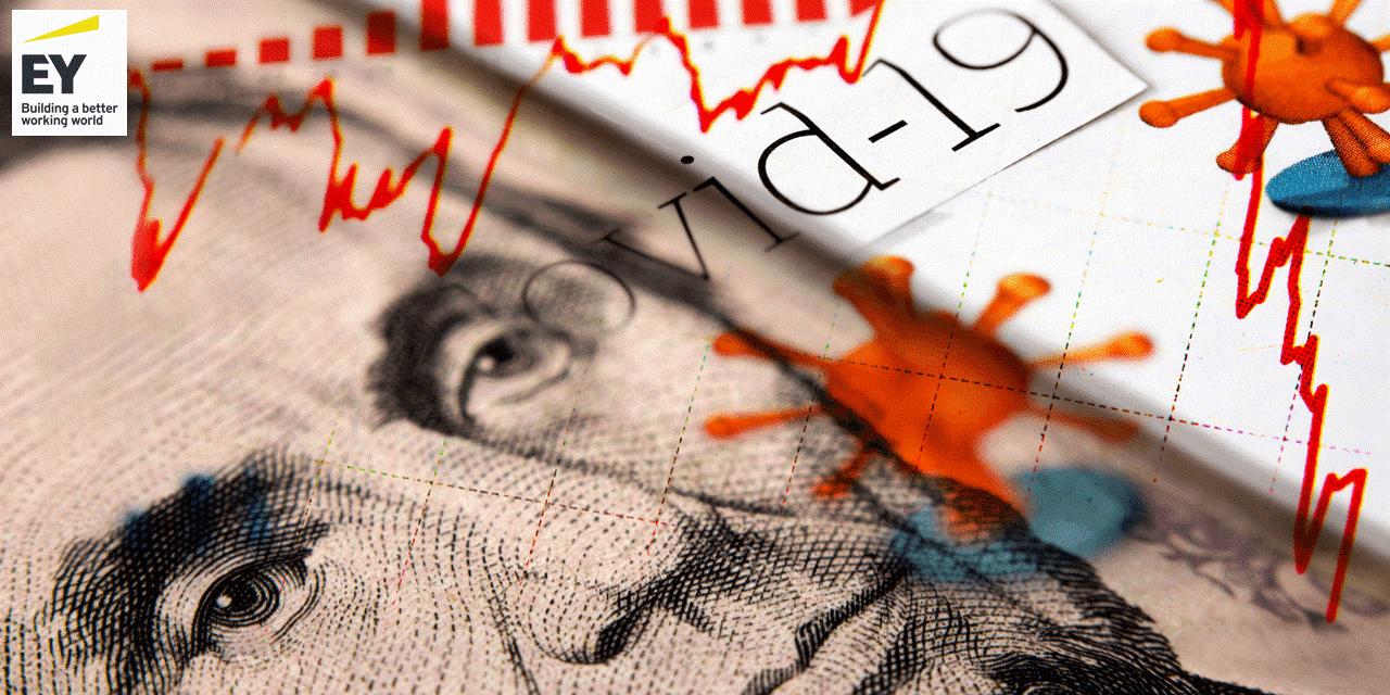 """בארה""""ב אושרה חבילת סיוע של כ-2 טריליון דולר להתמודדות עם משבר הקורונה / צילום: Shutterstock/א.ס.א.פ קרייטיב"""