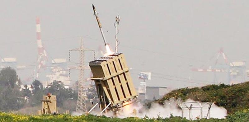 כיפת ברזל גראד עזה טילים אשדוד / צלם: רויטרס